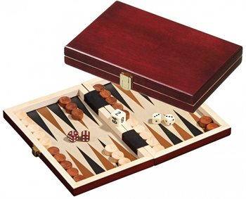 Image of   Saloniki, mini, Backgammon