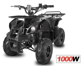 Image of   Azeno ATV - Hummer II 1000W 48V XL Kraftige 20Ah batterier