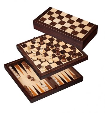 Image of   Skak, backgammon og dam