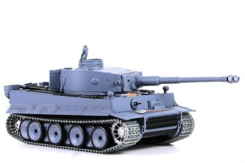 Heng Long Metal  R/C Tank German Tiger 1 , 1:16 røg og lyd.