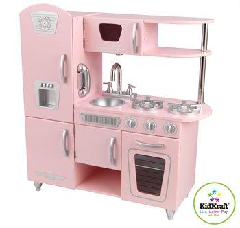 Image of   Kidkraft Pink Vintage køkken