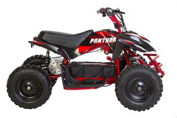 Image of   Azeno ATV - Panther Premium 1000W, 48V, fart regulator Red