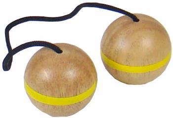 Image of   Ekstra Bex Stigegolf bolde i gummitræ 3 stk