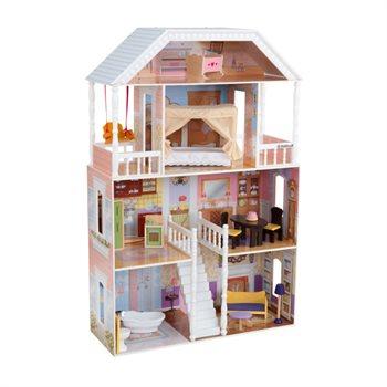Image of   Kidkraft Savannah dukkehus med møbler