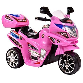 Image of   Azeno 6V Night Rider Pink motorcykel