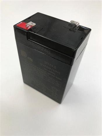 Batteri el bil / motorcykel 6V - 4,5A