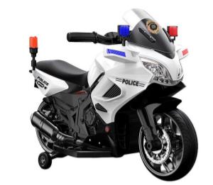 Image of   Azeno 6V Politi motorcykel