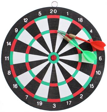 Billede af Masterdarts dartskive Ø24 cm