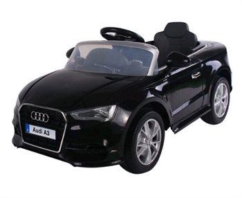 Udstilling Audi A3, 12V, fjernbetjening, 3 speed