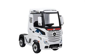 Mercedes Actros Truck 12V, 4x12V motorer og 2 x 12V batterier
