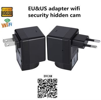 Image of   USB Oplader WiFi 220V med HD kamera