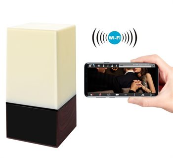 Image of   Alcotell WiFi IR Lampe med kamera
