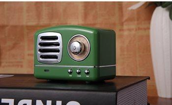 Mese HM11 retro superior BT højtaler, genopladelig Lithium batteri
