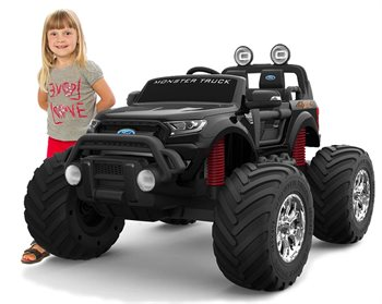 Image of   Ford Ranger Monster Truck 4x12V motor, gummihjul
