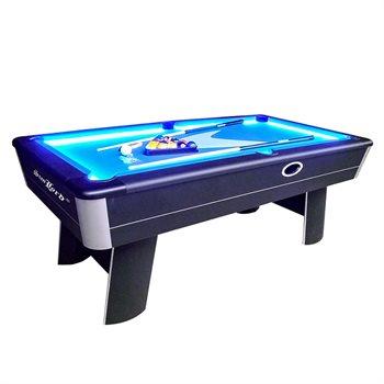 Image of   Stanlord Poolbord 7 fods AURA LED med alt tilbehør.