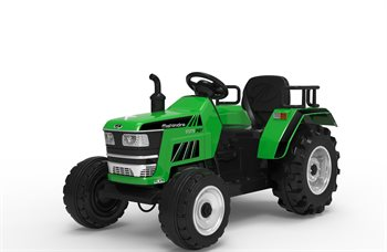 Image of   Azeno 12V Traktor XXL med lædersæde.