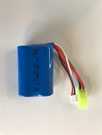 Lithium batteri S-Track 7.4V 1100 mAh