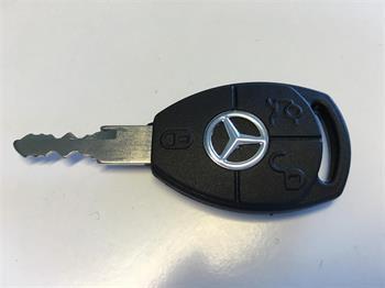 Image of   Nøgle til Mercedes EL bil