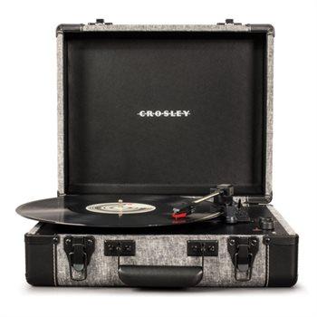 Crosley Portable Executive USB Pladespiller (Smoke) Bluetooth