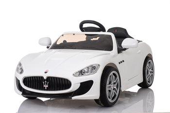Image of   Maserati Gran Turismo 12V, fjernbetjening og gummihjul