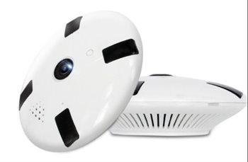 Image of Alcotell WiFi røgalarm 360 Eye kamera