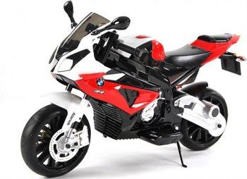 Image of   BMW S1000RR motorcykel 2x12V med gummihjul