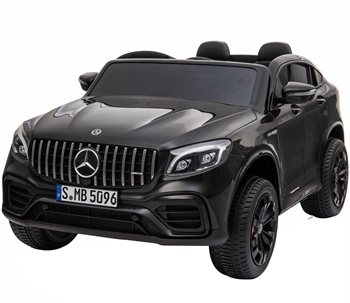 Image of   Mercedes GLC 63S Coupe sort 12Volt, 4x12V motorer, 2x12V batteri, 2 personers.