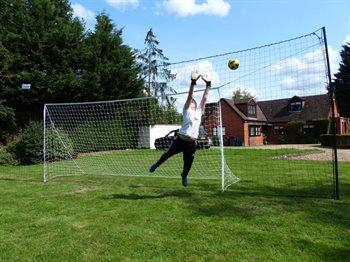 Image of   Opengoaaal Large 3,05 m høj - Fodbold mål med net