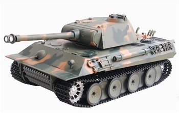 Heng Long R/C Tank German Panther, 1:16 røg og lyd.