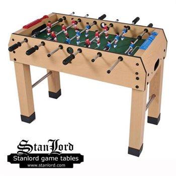 Stanlord Bordfodbold Monopoli, lamineret træ med robuste ben.
