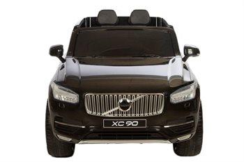 Volvo XC90, 12V, med gummihjul og lædersæde.
